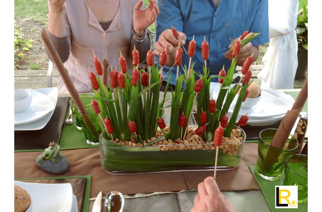 L'aperitivo in 3D: Tife di salamini