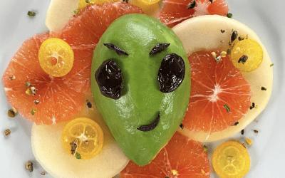 Un alieno nel piatto