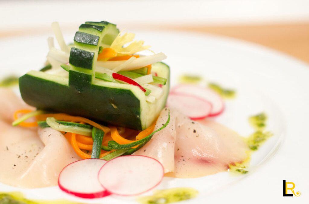 Cestino di cetriolo porta verdure